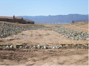 Prescott AZ civil engineers and land surveyors provide drainage and flood control services, hydrologic studies, hydraulic studies, floodplain delineations, FEMA map revisions, storm water management, erosion control services, and drainage design services