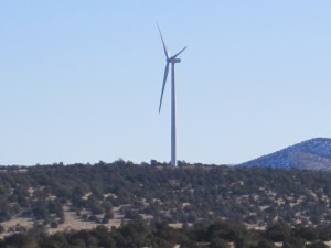 Civil Engineering Firm in Prescott AZ provides land surveying services to Perrin Ranch Wind Energy Project