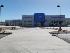 Civil Engineering Firm in Prescott AZ provides site development services to Prescott Honda