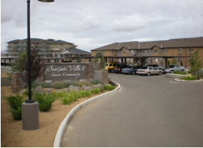 Civil Engineering Firm in Prescott AZ provides site development services to Sungate Villa II Senior Community
