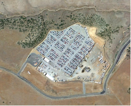 Civil Engineering Firm in Prescott AZ provides site development services to U-Pick-it Auto Salvage Yard