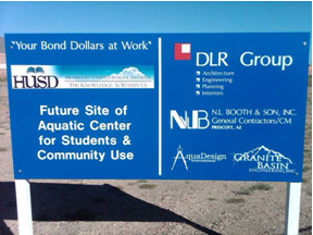 Civil Engineering Firm in Prescott AZ provides site development services to BMHS Aquatics Center
